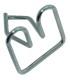 agrafes de moustache de calandre - 2 ème modèle - le kit de 15 pièces