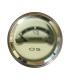 Manomètre beige niveau d'essence - Ø 52mm / 6v